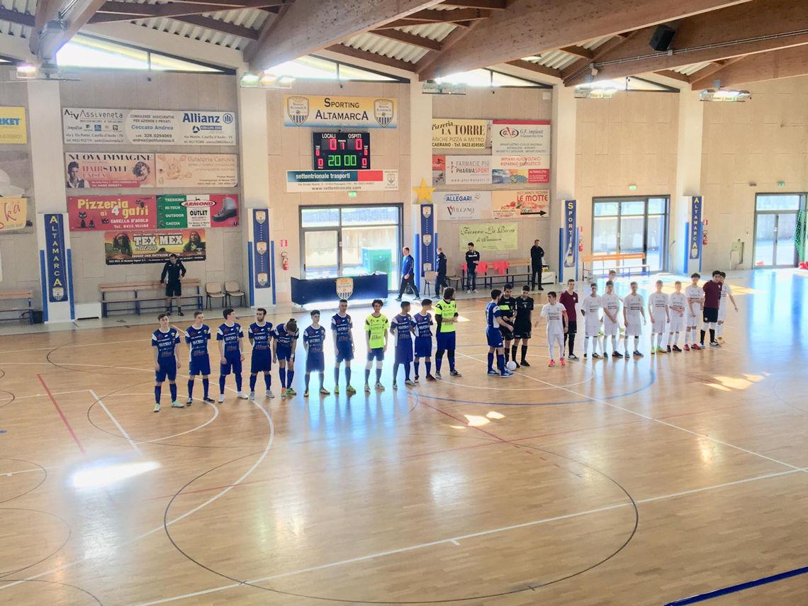 5 a 5 con lo Sporting Altamarca