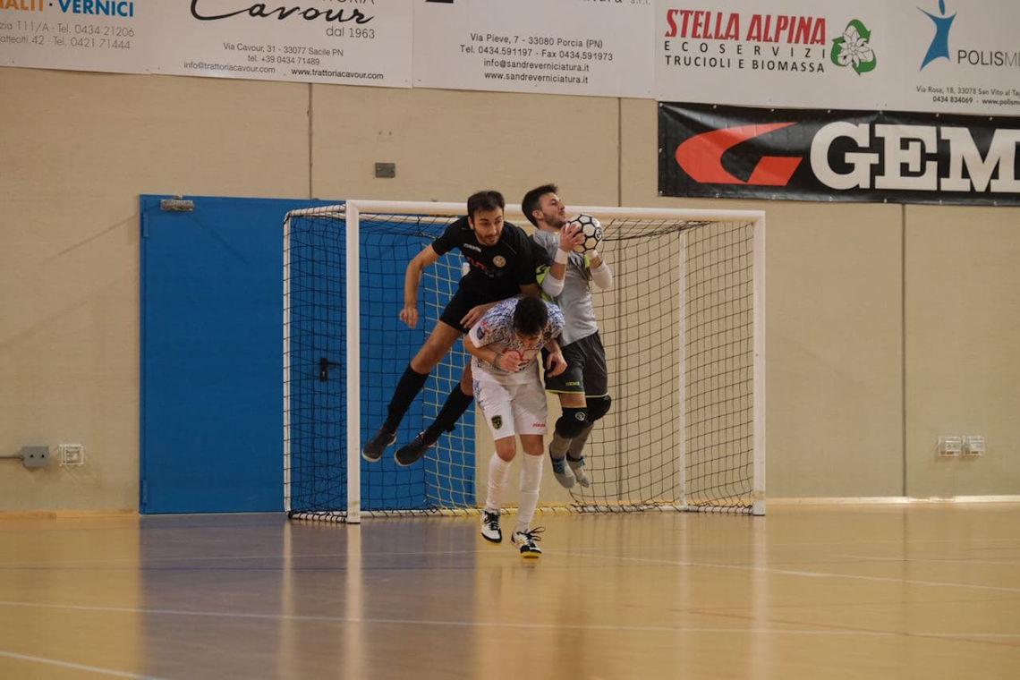 Il Maccan strappa i tre punti all'Udine City