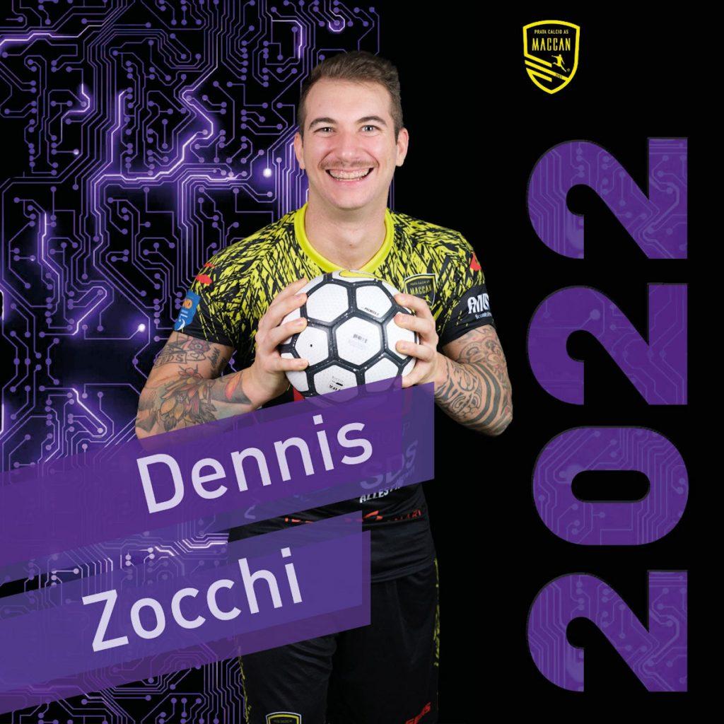 Dennis Zocchi ancora in giallonero